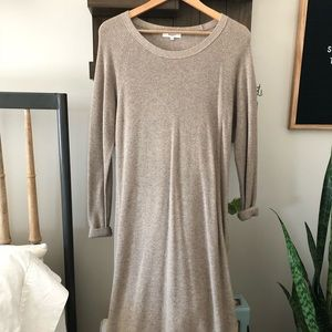Madewell knitted sweater dress